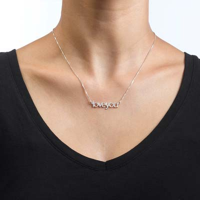 I Love You Necklace - 1