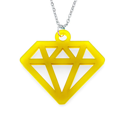 Acrylic Diamond Necklace