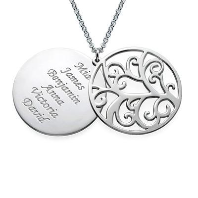 Filigree Family Tree Necklace