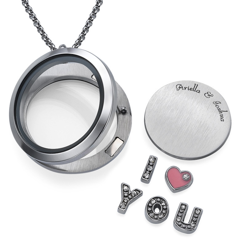I LOVE YOU  Floating Charms Locket - 1