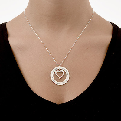 Love My Family Necklace - 1