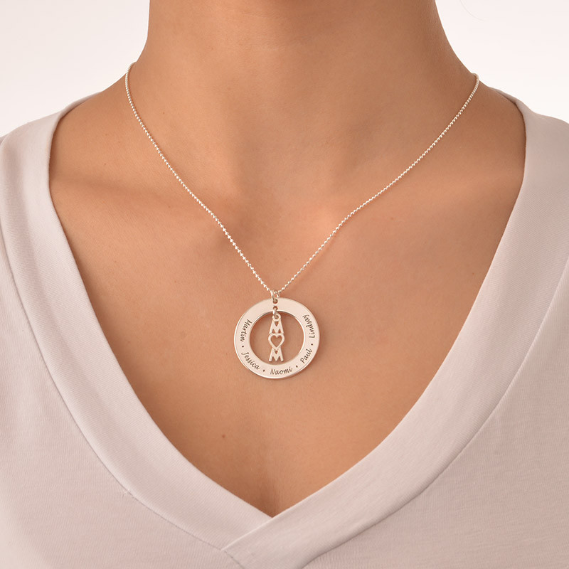 Thoughtful Gifts for Mum - Personalised Mum Necklace - 1
