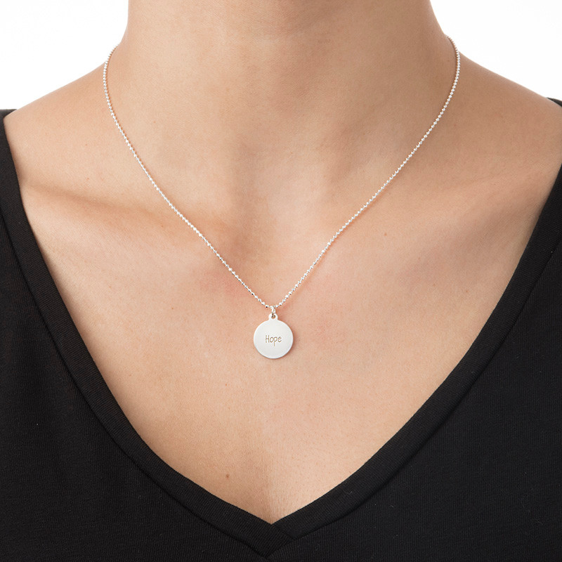 "Inspirational ""Hope"" Necklace - 1"