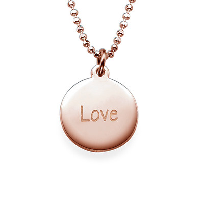 "Inspirational Saying Necklace - ""Love"" RGP"