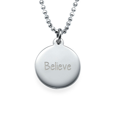 "Inspirational Gifts - ""Believe"" Necklace"