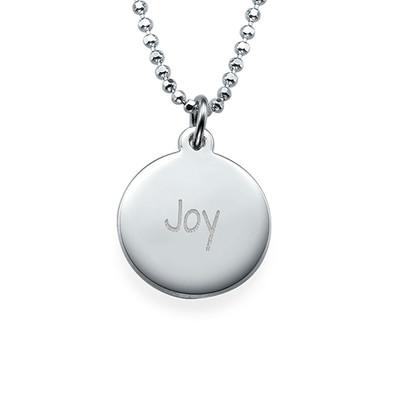 "Inspirational Gifts - ""Joy"" Necklace Silver"