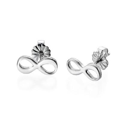 Infinity Bracelet & Stud Earrings Set - 2
