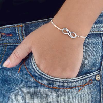 Infinity Bracelet & Stud Earrings Set - 1 - 2 - 3 - 4