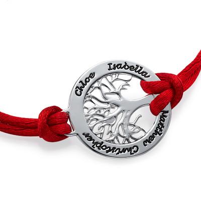 Silver Family Tree Bracelet - 1