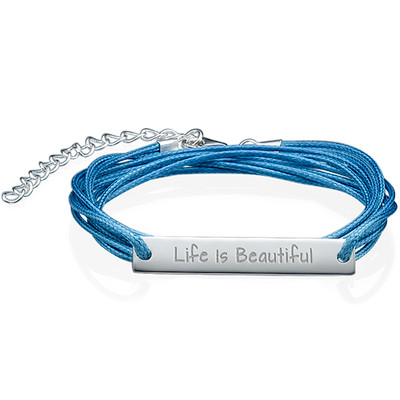 Life is Beautiful Inspirational Bracelet