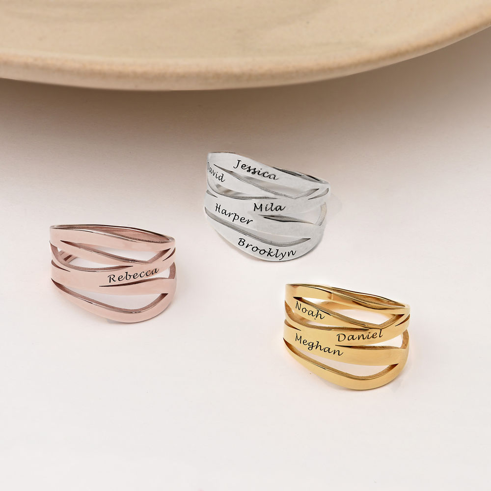 Margeaux Custom Ring in Gold Plating - 2