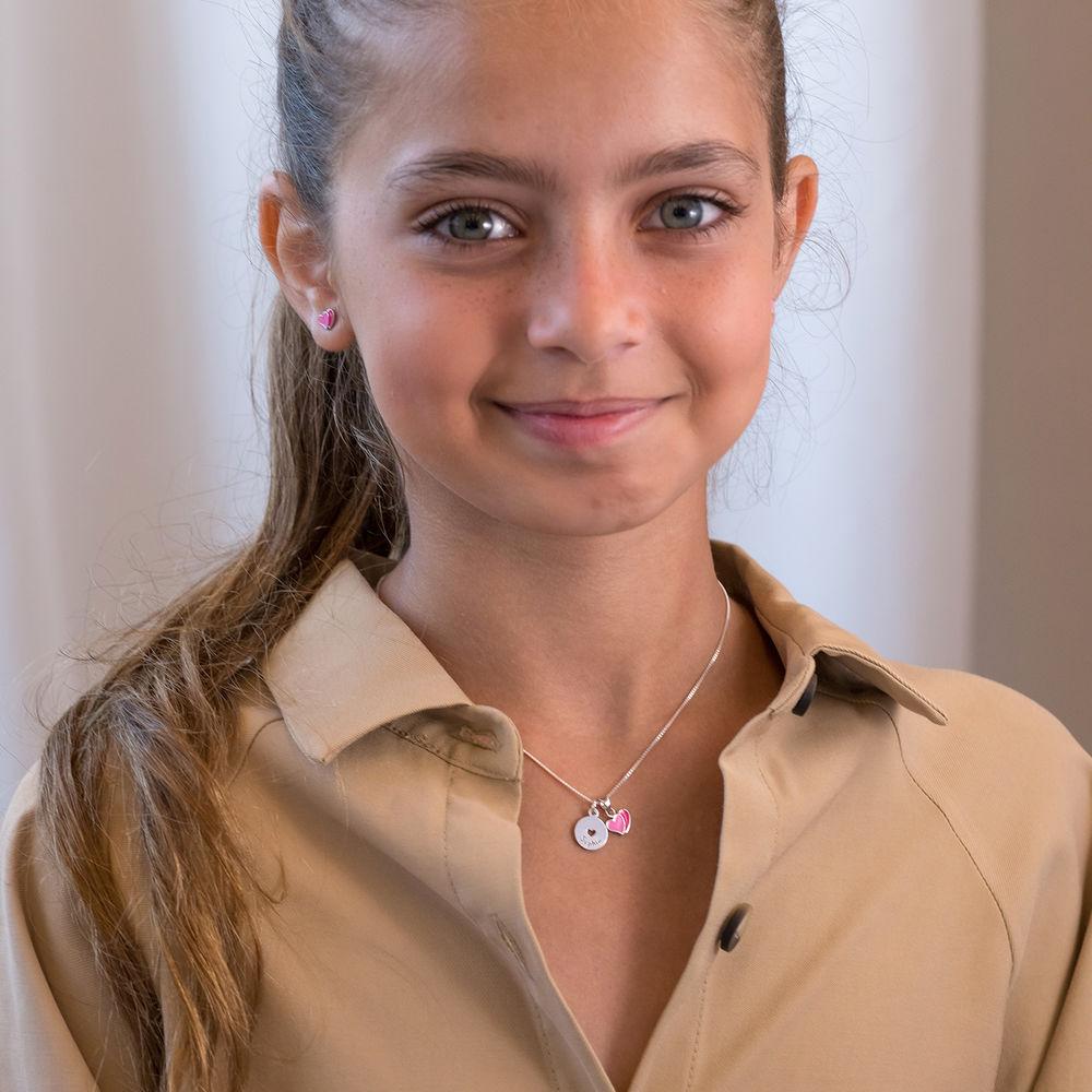 Heart Jewellery Set for Girls in Sterling Silver - 1