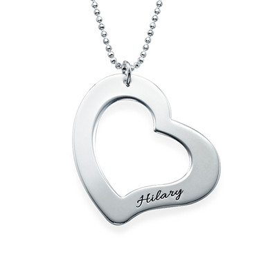 Mum is My Heart Mother Daughter Necklaces - 1 - 2