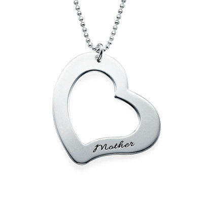 Mum is My Heart Mother Daughter Necklaces - 1 - 2 - 3 - 4