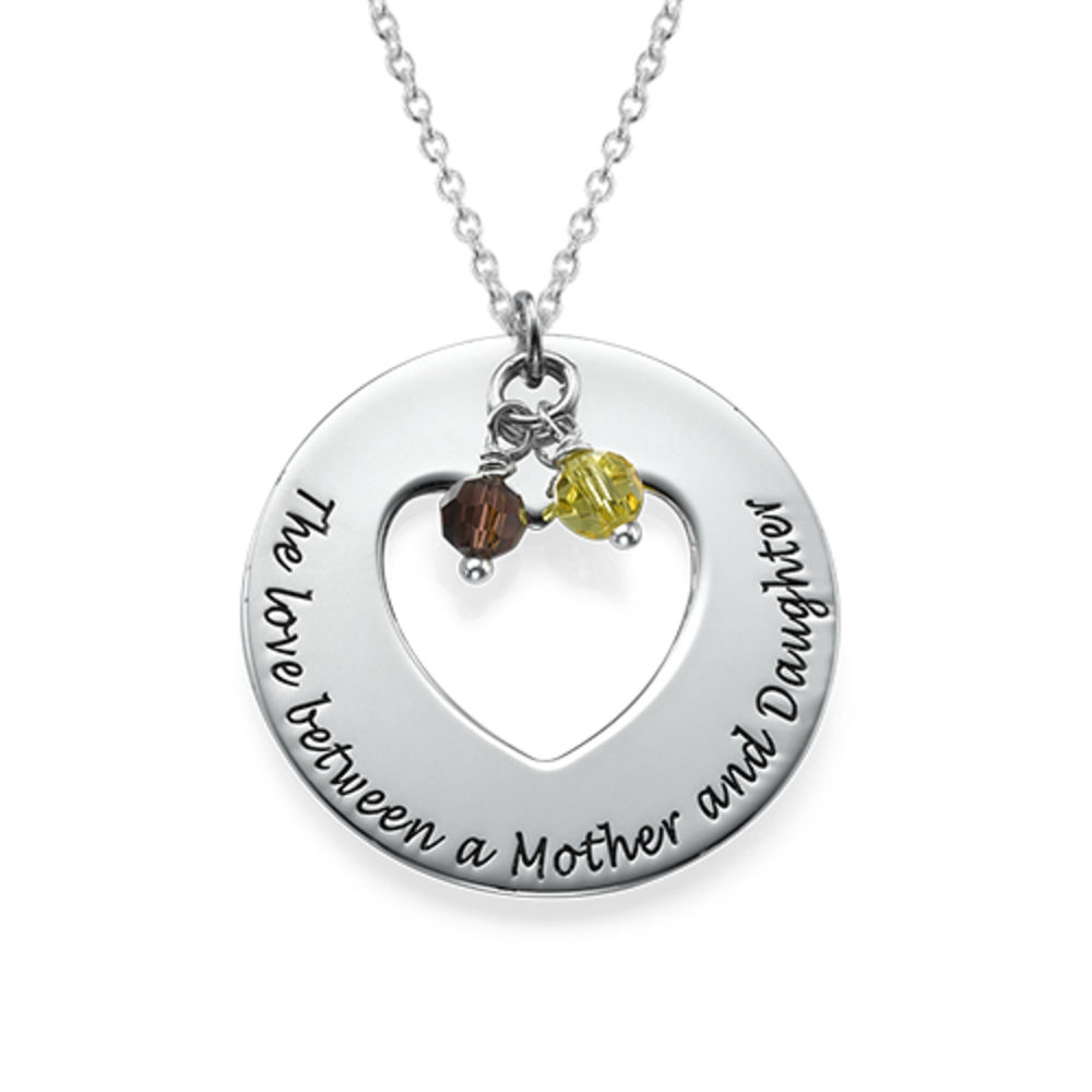 Love Between Mother & Daughters Necklace Set - 1