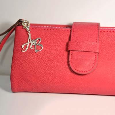 Silver Handbag/Purse Personalised Initial Charm - 2
