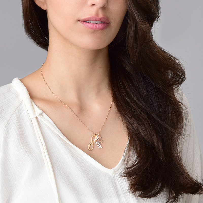Bead Chain - Rose Gold Plated - 2
