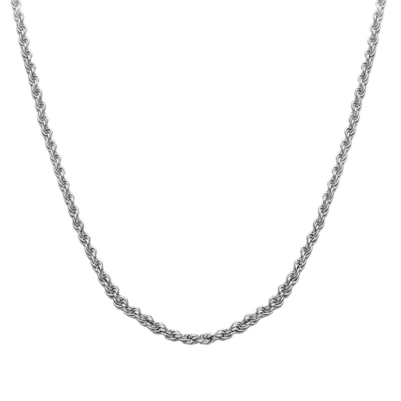 Rope Chain - Silver