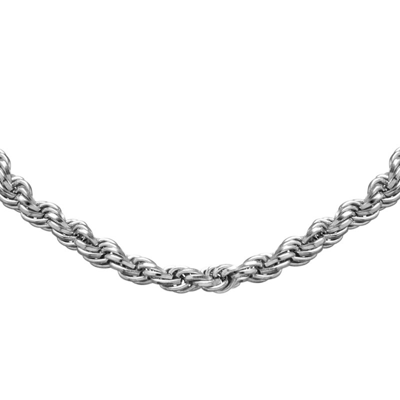 Rope Chain - Silver - 1