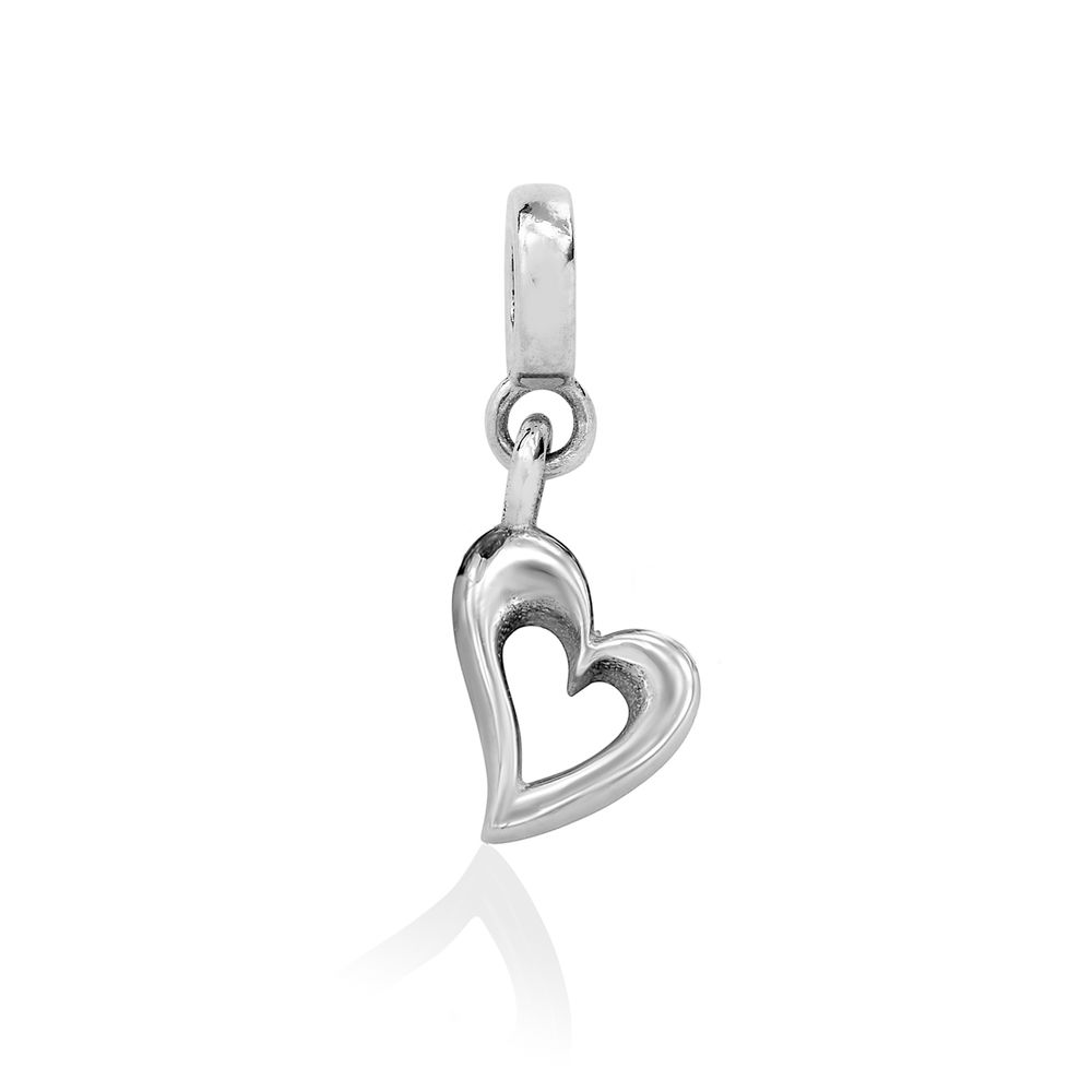 Heart Charm in Sterling Silver for Linda Bangle