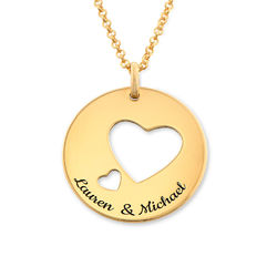 Love Circle in Gold Plating product photo