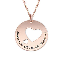 Love Circle in Rose Gold Plated product photo