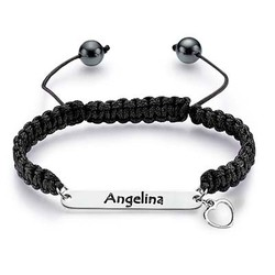 Sterling Silver Engraved ID Bracelet product photo