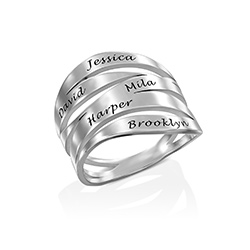 Margeaux Custom Ring in Sterling Silver product photo