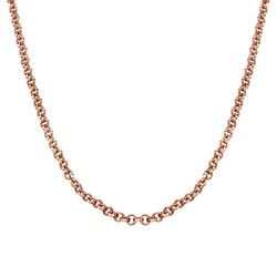 Rollo Chain - Rose Gold Plated product photo