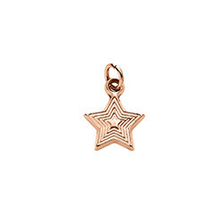 Star Charm in Rose Gold Plating for Linda Necklace product photo