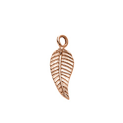 Leaf Charm in Rose Gold Plating for Linda Necklace product photo