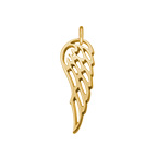 Angel Wing Charm - Gold Plated