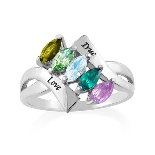 Birthstone Ring for mum - 1