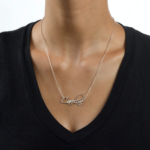 Calligraphy Name Necklace - 1