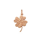 Clover Charm - Rose Gold Plated