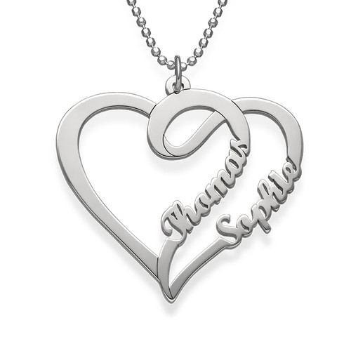 Couple Heart Necklace - My Everlasting Love Collection