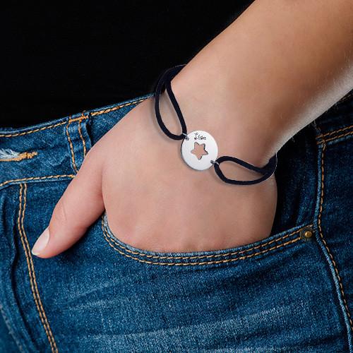 Cut Out Star Bracelet - 2