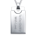 Dog Tag Necklace for Men