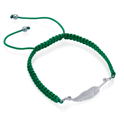 Feather Friendship Bracelet