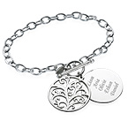 Filigree Tree of Life Bracelet