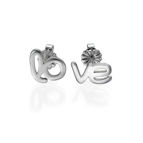 Hope and Love Stud Earrings