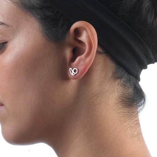 Hope and Love Stud Earrings - 3