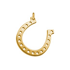 Horseshoe Charm - Gold Plated