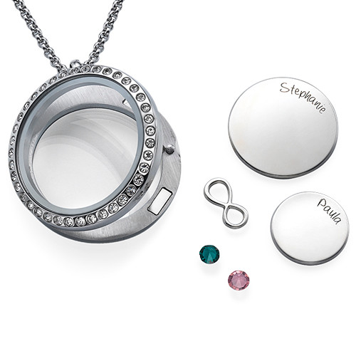 Infinite Love Floating Locket - 2