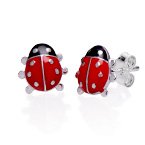 Ladybug Earrings for Kids