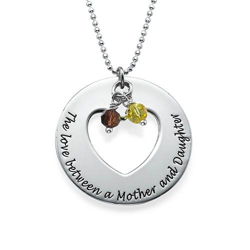 Love Between Mother & Daughters Necklace Set - 1