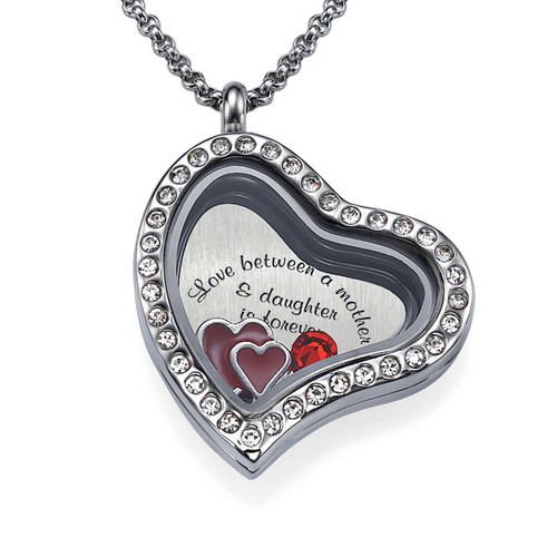Love My Children Floating Locket - 1
