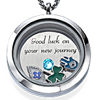 Lucky Charms  Floating Locket