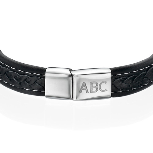 Men's Bracelet with Initials - 1