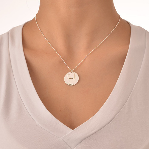 Mother Daughter Gift - Set of Three Engraved Necklaces - 3